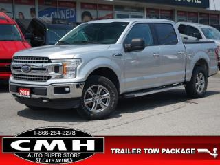 Used 2018 Ford F-150 XLT  CAM BLUETOOTH TOW-PKG 18-CHROMES for sale in St. Catharines, ON