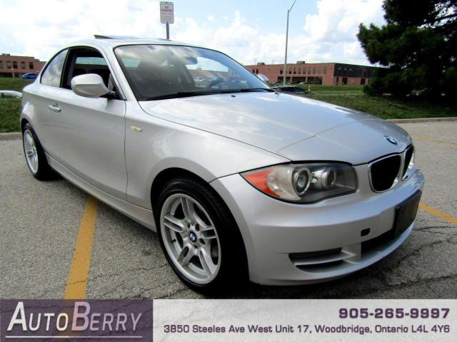 2010 BMW 1 Series 128i Coupe Accident Free!