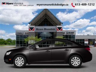 Used 2013 Chevrolet Cruze LT TURBO  - OnStar -  SiriusXM - $92 B/W for sale in Ottawa, ON
