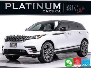Used 2018 Land Rover Range Rover Velar D180 R-Dynamic HSE, DIESEL, AWD, MASSAGE, NAV, CAM for sale in Toronto, ON