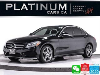 Used 2015 Mercedes-Benz C-Class C300 4MATIC, AWD, AMG PKG, NAV, CAM, PANO, HEATED for sale in Toronto, ON
