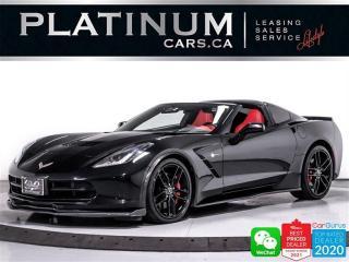 Used 2015 Chevrolet Corvette Stingray Z51 3LT, 450HP, NAV, CAM, HEATED, VENTED for sale in Toronto, ON