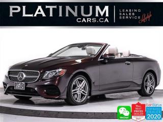 Used 2019 Mercedes-Benz E-Class E450 4MATIC Convertible, DISTRONIC PLUS, CAM, NAV for sale in Toronto, ON