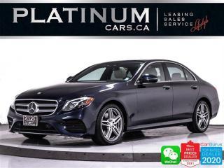 Used 2017 Mercedes-Benz E-Class E400 4MATIC, DISTRONIC PLUS, PREM PKG, NAV, CAM for sale in Toronto, ON