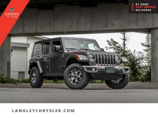 New 2021 Jeep Wrangler Rubicon Unlimited  -  Wi-Fi for sale in Surrey, BC