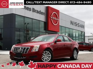 Used 2013 Cadillac CTS Sedan Luxury for sale in Kingston, ON