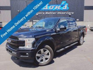 Used 2018 Ford F-150 Lariat 4x4 2.7 EcoBoost SuperCrew - Sport Package, Trailer Tow Package, Navigation, Leather & More! for sale in Guelph, ON