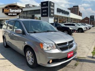 Used 2019 Dodge Grand Caravan SE Plus - Leather - DVD Player - STO-N-GO - No Accidents - One Owner for sale in North York, ON