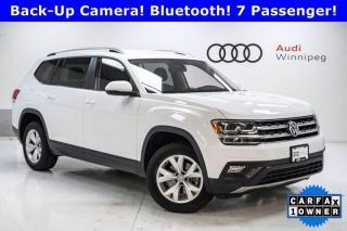 Used 2018 Volkswagen Atlas Comfortline w/Leather *Local Trade* for sale in Winnipeg, MB