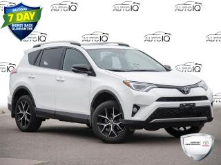 Used 2018 Toyota RAV4 SE Power Moonroof | Power Tail Gate | Heated Steering Wheel for sale in Welland, ON