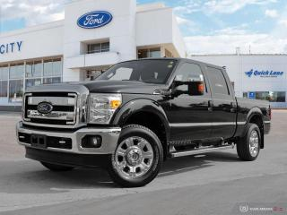 Used 2015 Ford F-250 LARIAT 4X4 CREW for sale in Winnipeg, MB