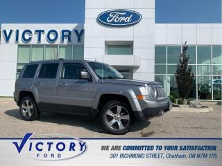 Used 2016 Jeep Patriot Sport/North High Altitude | LOW KM | SUNROOF | LEATHER SEATS | for sale in Chatham, ON