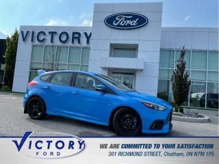 Used 2017 Ford Focus RS RS   2 SETS OF WHEELS   6 SPEED MANUAL   AWD   NAV for sale in Chatham, ON
