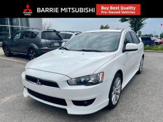 Used 2010 Mitsubishi Lancer GTS for sale in Barrie, ON