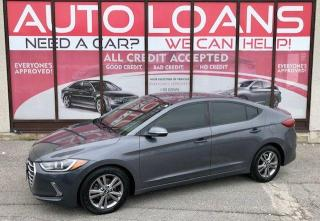 Used 2018 Hyundai Elantra GLS-ALL CREDIT ACCEPTED for sale in Toronto, ON