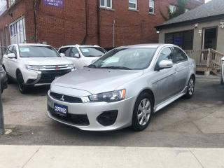 Used 2016 Mitsubishi Lancer for sale in Scarborough, ON