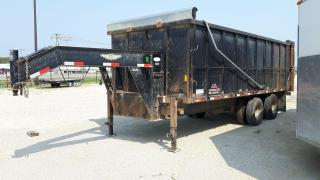 Used 2008 H&H Trailers Dump Trailer 20 x 8.5 Dump Box for sale in Elie, MB