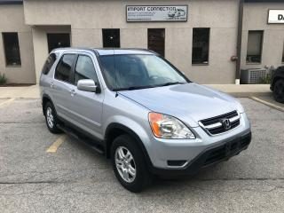 Used 2003 Honda CR-V EX-L,LEATHER,SUNROOF,LOW KM's! CERTIFIED! for sale in Burlington, ON