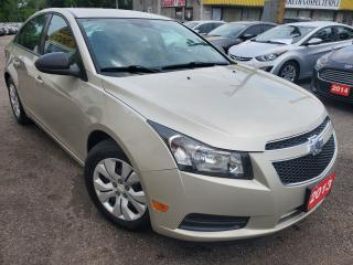Used 2013 Chevrolet Cruze LS/AUTO/LOADED/VERY CLEAN for sale in Scarborough, ON
