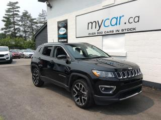 Used 2020 Jeep Compass Limited LEATHER, PANOROOF, NAV, HEATED SEATS, WOW!! for sale in Richmond, ON