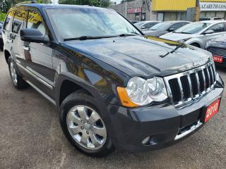 Used 2010 Jeep Grand Cherokee Limited/AWD/NAVI/LEATHER/ROOF/LOADED/ALLOYS for sale in Scarborough, ON