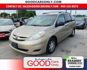 Used 2006 Toyota Sienna CE for sale in Burlington, ON