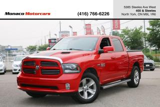 Used 2013 RAM 1500 SPORT 4WD 5.7L HEMI - LEATHER|SUNROOF|NAVI|BACKUP for sale in North York, ON