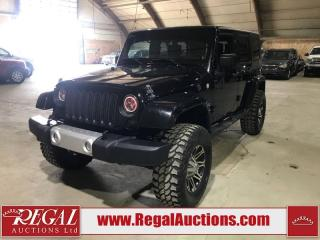 Used 2010 Jeep WRANGLER UNLIMITED SAHARA 4D UTILITY 4WD 3.8L for sale in Calgary, AB