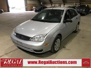 Used 2005 Ford Focus ZX4 4D Sedan for sale in Calgary, AB