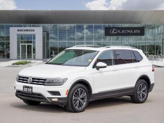 Used 2018 Volkswagen Tiguan Highline AWD | Panoramic Roof | Navigation for sale in Winnipeg, MB