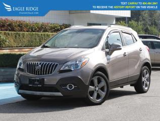 Used 2014 Buick Encore Convenience Satellite Radio & Backup Camera for sale in Coquitlam, BC