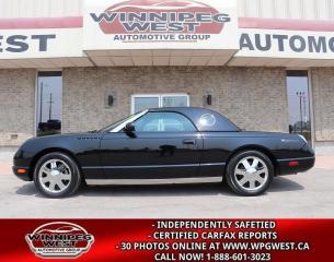 Used 2002 Ford Thunderbird PREMIUM EDITION W-HARDTOP, FLAWLESS, ONLY 27KMS for sale in Headingley, MB