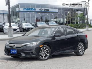 Used 2017 Honda Civic Sedan EX ONE OWNER| FINANCE AVAILABLE| MOONROOF for sale in Mississauga, ON