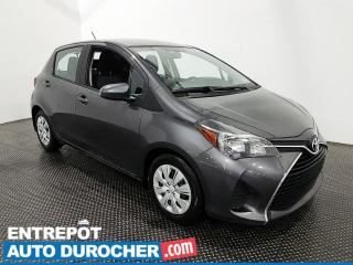 Used 2016 Toyota Yaris LE AUTOMATIQUE - Climatiseur - Bluetooth - for sale in Laval, QC