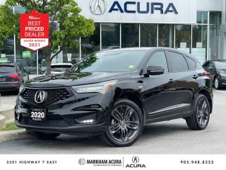 Used 2020 Acura RDX SH-AWD A-Spec at for sale in Markham, ON
