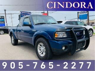 Used 2011 Ford Ranger Sport, 4x4, Toneau Cover, A/C for sale in Caledonia, ON