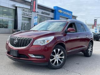 Used 2017 Buick Enclave Leather / LEATHER / SUNROOF / NAVI / LOADED / for sale in Brampton, ON