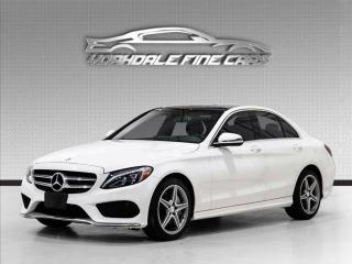 Used 2017 Mercedes-Benz C-Class C300 4MATIC AMG Pkg, Navigation, Camera, Panoramic Roof for sale in Concord, ON