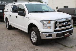 Used 2017 Ford F-150 XLT 4WD SuperCrew 5.5 Box Leer cab Bluetooth for sale in Mississauga, ON