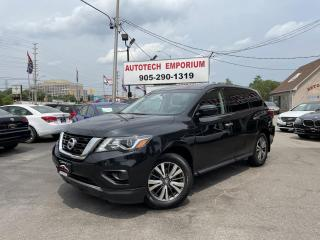 Used 2018 Nissan Pathfinder Camera/Bluetooth/7-Passenger/Alloys/GPS* for sale in Mississauga, ON
