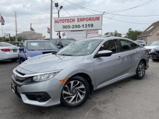 Used 2017 Honda Civic EX w/Honda Sensing Sunroof/Alloys/Navigation for sale in Mississauga, ON