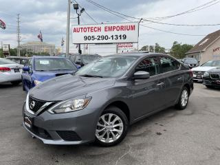 Used 2018 Nissan Sentra SV Style Pkg Sunroog/Alloys/Camera/GPS* for sale in Mississauga, ON