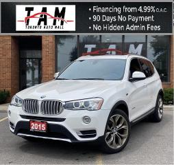 Used 2015 BMW X3 xDrive28d Diesel NAVI Sunroof Back-Up Camera Heated Steering PDC for sale in North York, ON