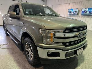 Used 2019 Ford F-150 Lariat SuperCrew 5.5-ft. Bed 4WD #Clean Carfax #Leather for sale in Brandon, MB