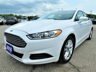 Used 2016 Ford Fusion SE | Back Up Cam | Remote Start | Cruise Control for sale in Essex, ON