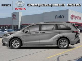 New 2021 Toyota Sienna LE 8-Passenger AWD  -  Heated Seats for sale in Steinbach, MB