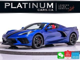 Used 2020 Chevrolet Corvette Stingray 2LT, 495HP, Z51 PKG,NAV, CAM, HUD, HEATED for sale in Toronto, ON