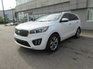 Used 2016 Kia Sorento 3.3L SX +AWD | Leather Seating | Power Sunroof for sale in Mississauga, ON