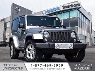 Used 2014 Jeep Wrangler SAHARA AWD HARD&SOFT TOP AUTO 1 OWNER CLEAN CARFAX for sale in Scarborough, ON