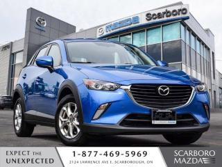 Used 2016 Mazda CX-3 GS NAV REAR CAMERA 1 OWNER CLEAN CARFAX for sale in Scarborough, ON
